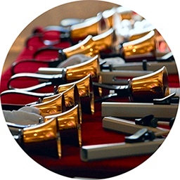 The symphonic sounds of the handbell choir summon us, delight us, and enhance worship.